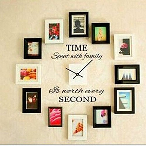 - Balabella Time Spent with Family Is Worth Every Second,Wall Decal Home Decor Art