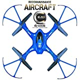 Munchkin Land QY 66 D1 Drone - 6 Axis Gyro RC Headless Quadcopter - No Camera - (Colours Blue or Light Brown - Randomly Shipped)
