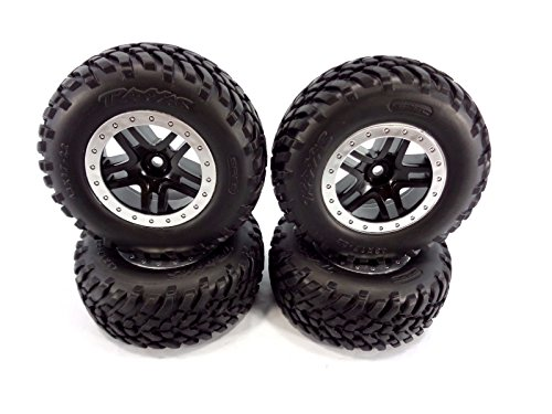 Traxxas 1/10 Ford Raptor/Slash 2WD4 BF GOODRICH TIRES & SCT SPLIT SPOKE WHEELS ()
