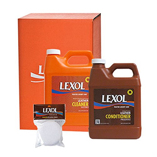 Lexol 0922 Leather Care Kit with Sponges