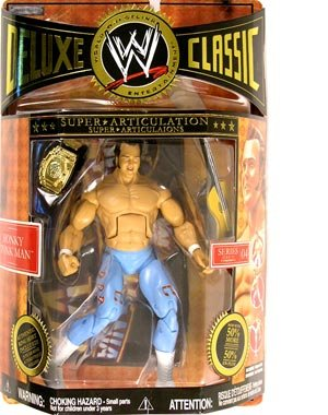 WWE Wrestling Deluxe Classic Series 4 - HONKY TONK MAN