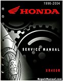 61KCY08 1996-2004 Honda XR400R Service Manual