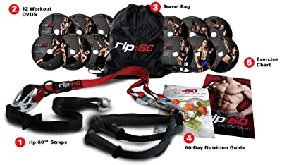 rip:60 Home Gym and Fitness DVDs by ICON Health and Fitness