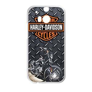 DAZHAHUI The Harley Davidson Cell Phone Case for HTC One M8 wangjiang maoyi