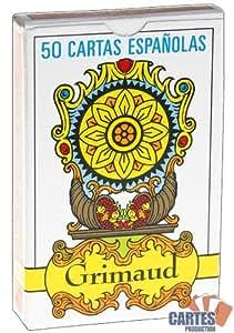 Juego de 50 cartas : Grimaud cartas Espagnoles [importado de Francia]