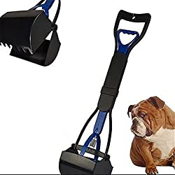 Pet Dog Pooper Scooper Clean Sanitary Jaw Poop Scoop Pick Up Animal Waste Shovel New Pickup Removal Cat Handle For A Comfortable Grip Brand New by Generic