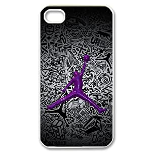 Custom Your Own Personalised Jordan Iphone 4/4S Best Durable Hard Cover Case
