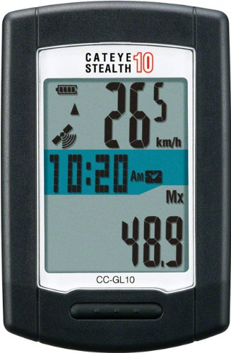 Cateye Stealth 10 Cycling Computer by CatEye (Image #1)