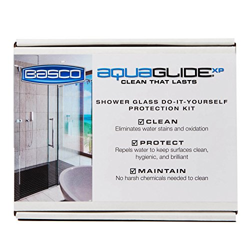 Revitalize Kit (Basco AquaGlideXP Shower Door Glass Water Repellent Kit)