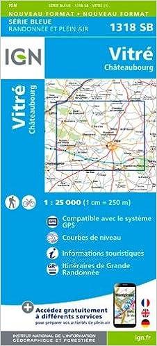 Livres epub télécharger gratuitement 1318SB VITRE CHATEAUBOURG en français ePub 2758535378