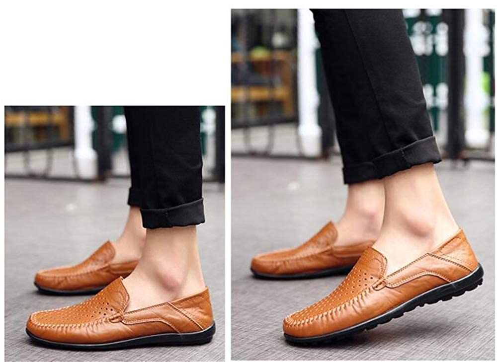 edv0d2v266 New Casual Shoes Men Moccasins for Men Comforable Leather Flat Shoes Soft Leather Men Loafers