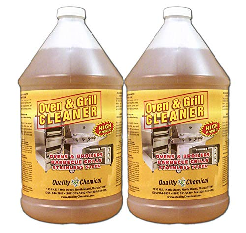 Oven & Grill Cleaner Heavy-Duty. High Power! Nothing Stronger.-2 gallon case by Quality Chemical (Image #1)