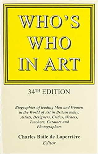 Book Who's Who in Art 34: Autobiographies of Leading Men and Women of the World of Art in Britain Today