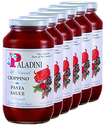 Paladini All Natural Cioppino Pasta Sauce, 26 oz., Case of 6 bottles