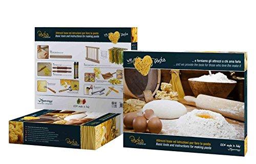 Eppicotispai 9-Piece Pasta Starter Set, Cream