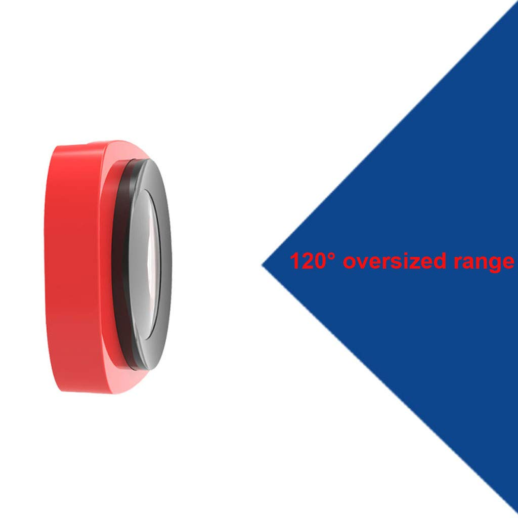 Camera Filter For DJI OSMO Pocket 3 in1 CR Wide Angle + 12.5X + CPL PTZ Camera 3pc Lens Filters Aluminum-alloy Helicopter Accessories (red) by lkoezi- Camera Filter (Image #7)