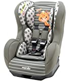 MyCarSit Nania - Asiento de coche para niños, 0 a 18 kg, diseño de jirafa