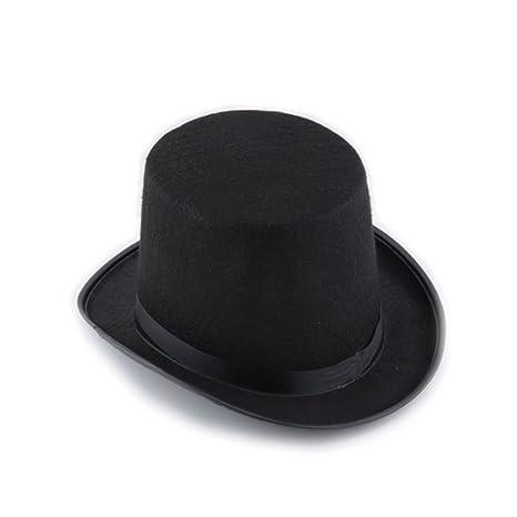 Masquerade Top Hat Black Halloween Costumes Accessory