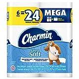 Charmin Ultra Soft Toilet Paper Mega Rolls, 6 Count