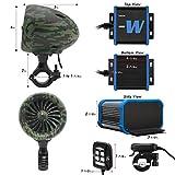 GoHawk TJ4-W Camo Green Waterproof Amplifier