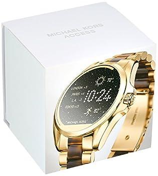 Michael Kors Access Touchscreen Gold Acetate Bradshaw Smartwatch Mkt5003 6