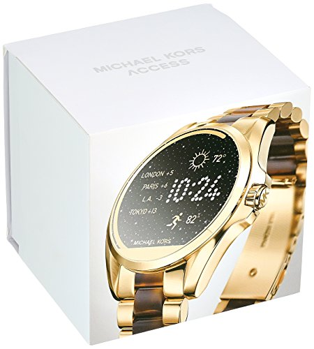 Large Product Image of Michael Kors Access, Women's Smartwatch, Bradshaw Gold-Tone and Tortoise, MKT5003