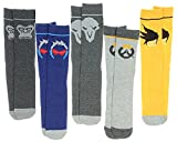 Overwatch 5 Pair Crew Socks