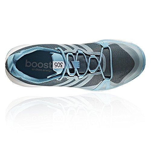 adidas Terrex Agravic GTX W, Stivali da Escursionismo Donna Multicoloree (Azuvap/Agucla/Ftwbla)