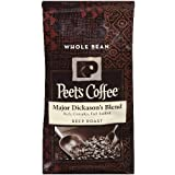 Peets Coffee, Major Dickason's Blend, Whole Bean 32oz (Pack of2)