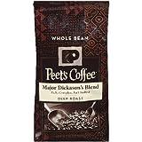 4 Pack Wholesale Lot Peet's Coffee Major Dickason's Blend Whole Bean Coffee 32oz