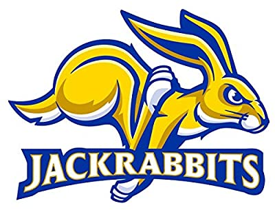 USTORE Vinyl Sticker Decal South Dakota State Jackrabbits NCAA Weather Resist for Windows Car Cell Phone Bumpers Laptop Wall