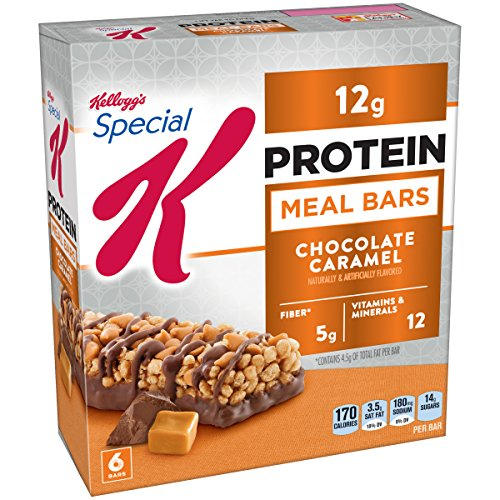 Kellogg's Special K Protein Meal Bar, Chocolate Caramel, 9.5 Ounce