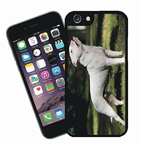 Staffordshire bull terrier phone case, design 13 - This cover will fit Apple model iPhone 7 (not 7 plus) - By Eclipse Gift Ideas