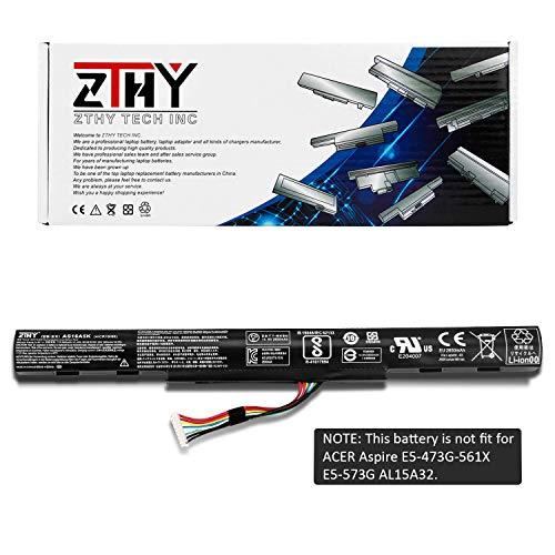ZTHY AS16A5K AS16A7K AS16A8K Laptop Battery Replacement for Acer Aspire E15 E5-475 E5-475G E5-575 E5-575G E5-575T E5-575TG E5-774 E5-774G E5-575G E5-575-59QB E5-575-33BM 14.8V 2800mAh
