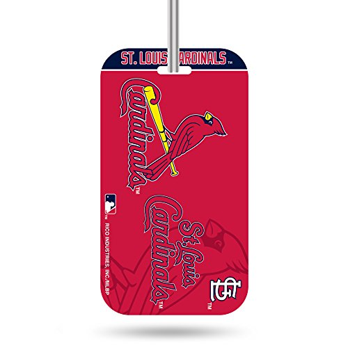 Rico Industries MLB St. Louis Cardinals KeychainKeychain Luggage Tag, Team Colors, One Size