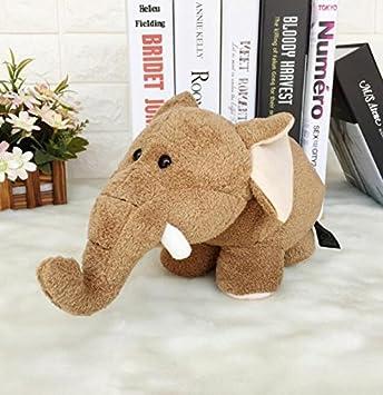 YOIL Lindo y Encantador Juguete Suave Peluches Muñeco de Peluche de Peluche 30x18cm Muñeca de Elefante