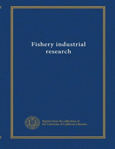 Download Fishery industrial research (v.3 no. 1-4) pdf epub