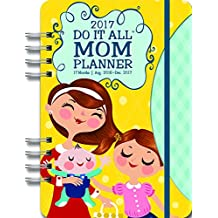 Orange Circle Studio 17-Month 2017 Do It All Planner, Mom's Do It All (31545)