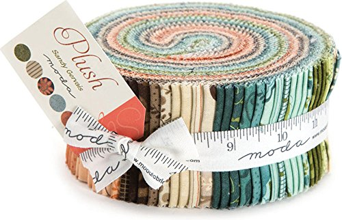 Moda Fabric Strips - 4