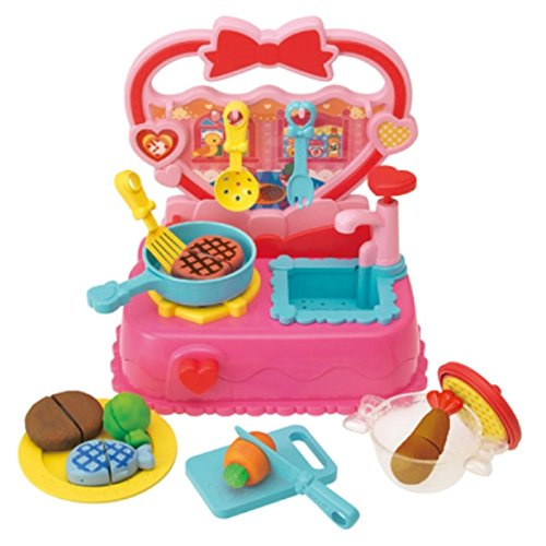 Change Color Cooking Play Set ! Heart Kitchen