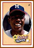 1991 Upper Deck Aaron Heroes #20 Hank Aaron MILWAUKEE BRAVES