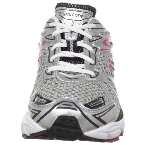 Saucony - Zapatillas de running de sintético para niña rosa rosa - Grey - Silver - Pink