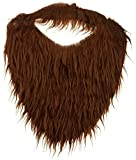 Jacobson Hat Company Men's Beard with Elastic, Brown, One...