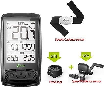 Lee Lam Sensor GPS Mini Computadora De La Bicicleta A Prueba De ...