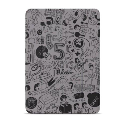 OZAKI O!coat Relax 360° Multi Angle Smart Case For Apple iPad Air - Gray by Ozaki