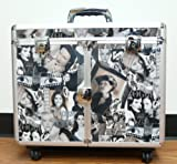 Professional Salon Stylist Make-Up Case with Appliance Holders, 4 Wheels, Retractable Handle, Safety Locks and 2 Keys, Bags Central