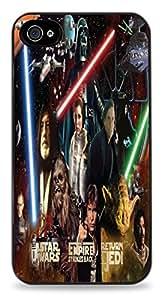Star Wars Collage iPhone 5C Black Hardshell Case