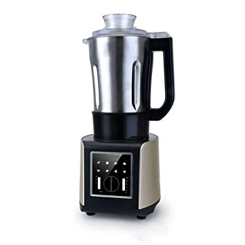 VATHJ Exprimidor máquina de la leche de soja de acero inoxidable que calienta la máquina de
