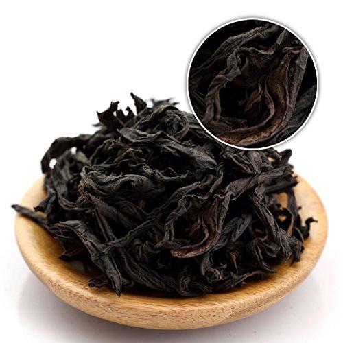 (GOARTEA 100g (3.5 Oz) Organic Nonpareil Supreme Da Hong Pao Big Red Robe Wuyi Mountain Rock Chinese Oolong Tea)