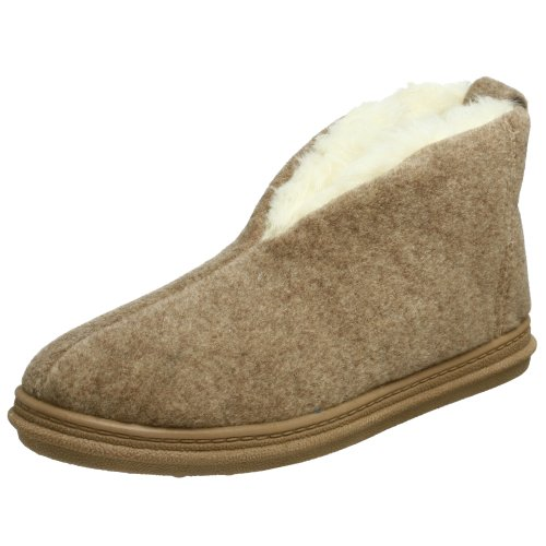 Tamarac by Slippers International Men's 500P Eurelle Dorm Slipper,Tan,10 M US